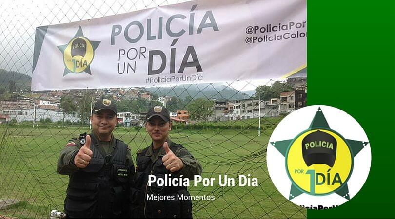 Los mejores momentos de #PolicíaPorUnDia