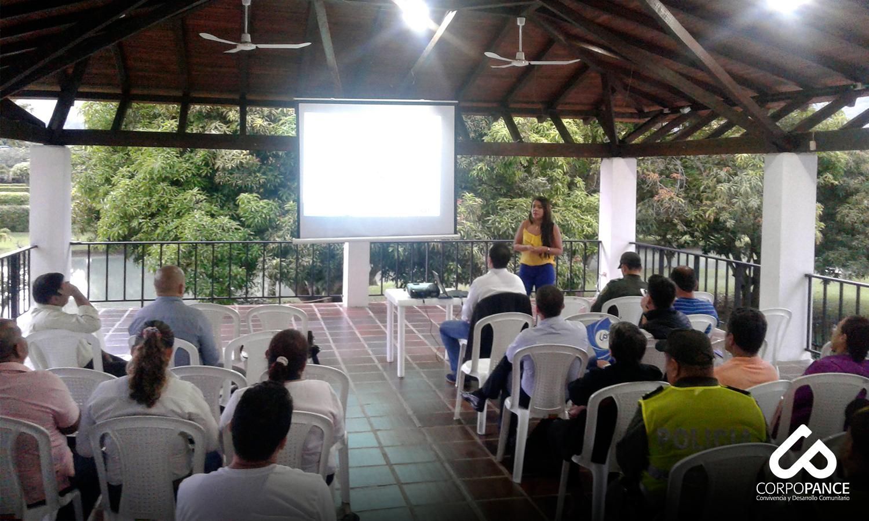 Reunión de Seguridad Condominios Alfaguara – Jamundí