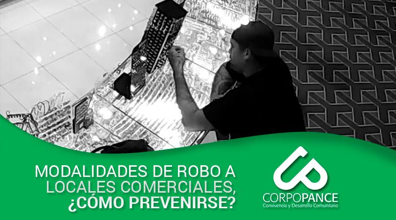 Modalidades de robo a locales comerciales, ¿cómo prevenirse?