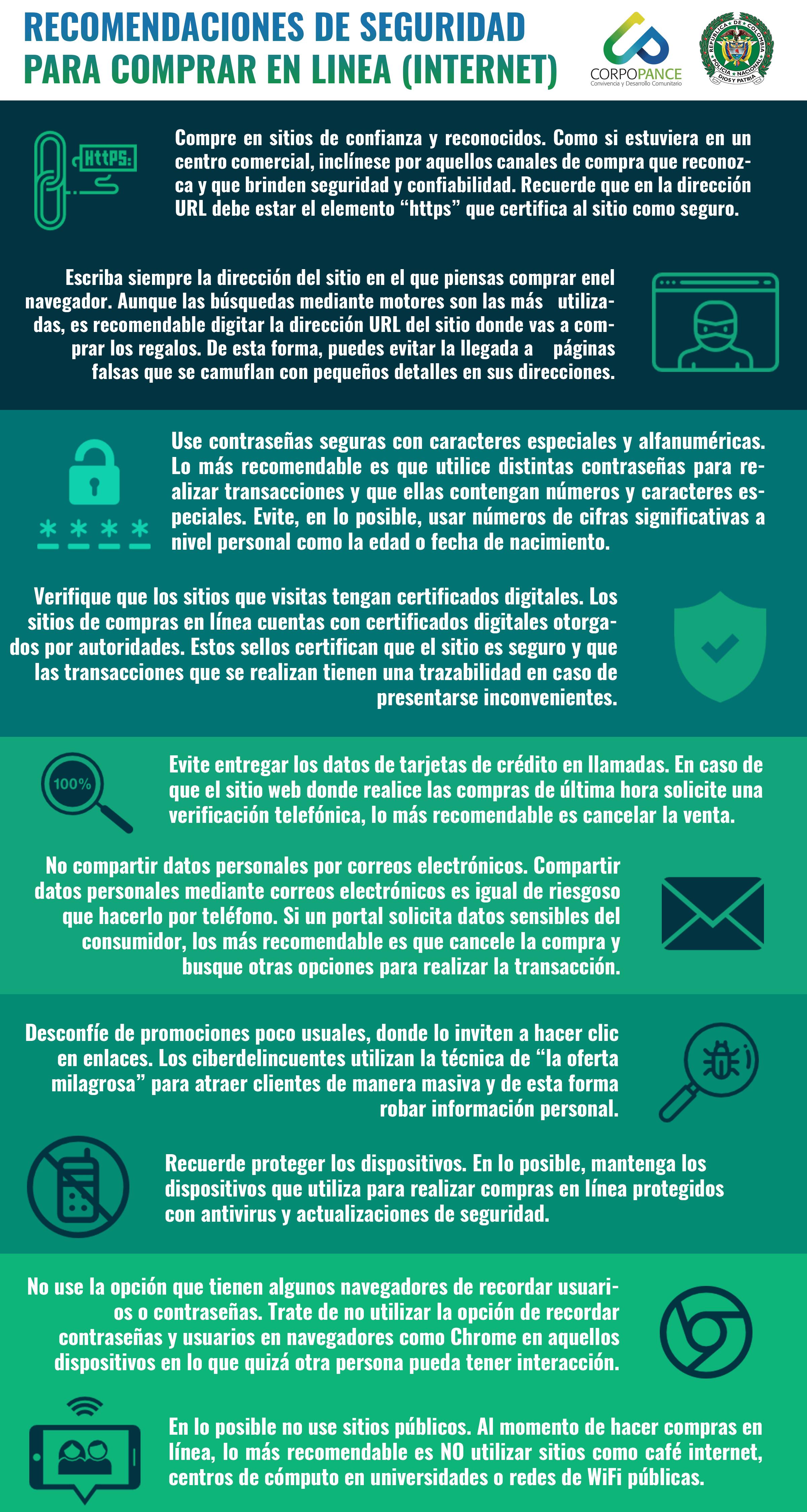 Tips de seguridad para comprar en internet.