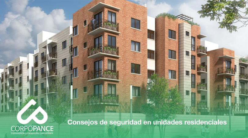Consejos de seguridad en unidades residenciales