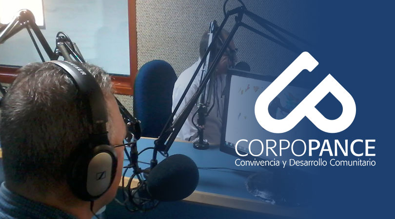 Entrevista Presidente de Corpopance realizada por la emisora Javeriana Estereo 107.5