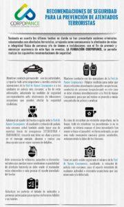 Prevencion de ataques terroristas (Recomendaciones)